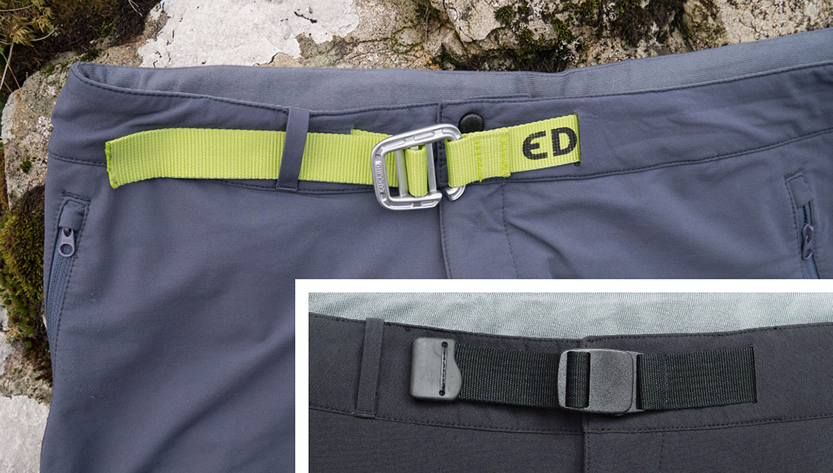 The Turley Belt on Mountain Equipment's Ibex Trousers